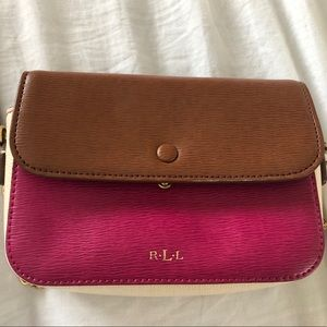 Small Ralph Lauren Cross Body Purse